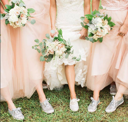 ecaee9a22c1f Keds and Kate Spade have released a sneaker collection specially for brides