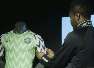 the new nigerian jersey